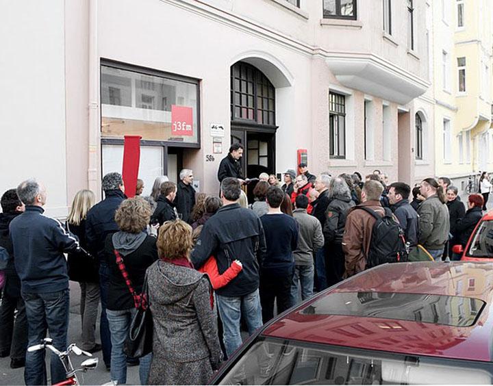 Ausstellungseröffnung J. Adorf - 'Gedeih & Verderb', 2010